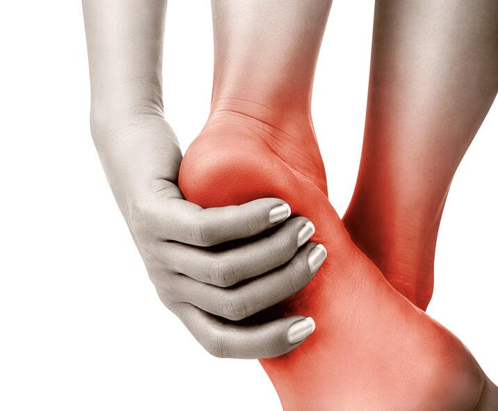 Bolesti v oblasti hlezen a nohou