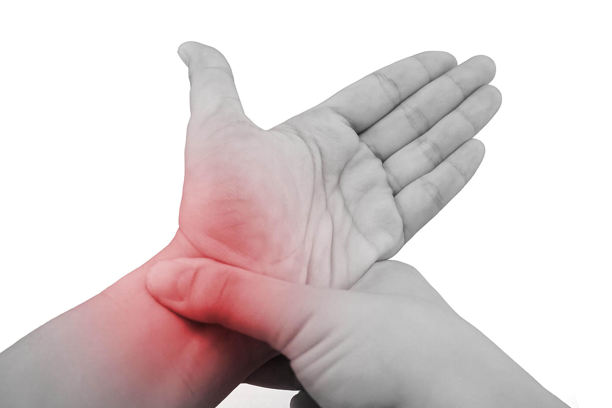 Bolesti v oblasti ruky a zápěstí