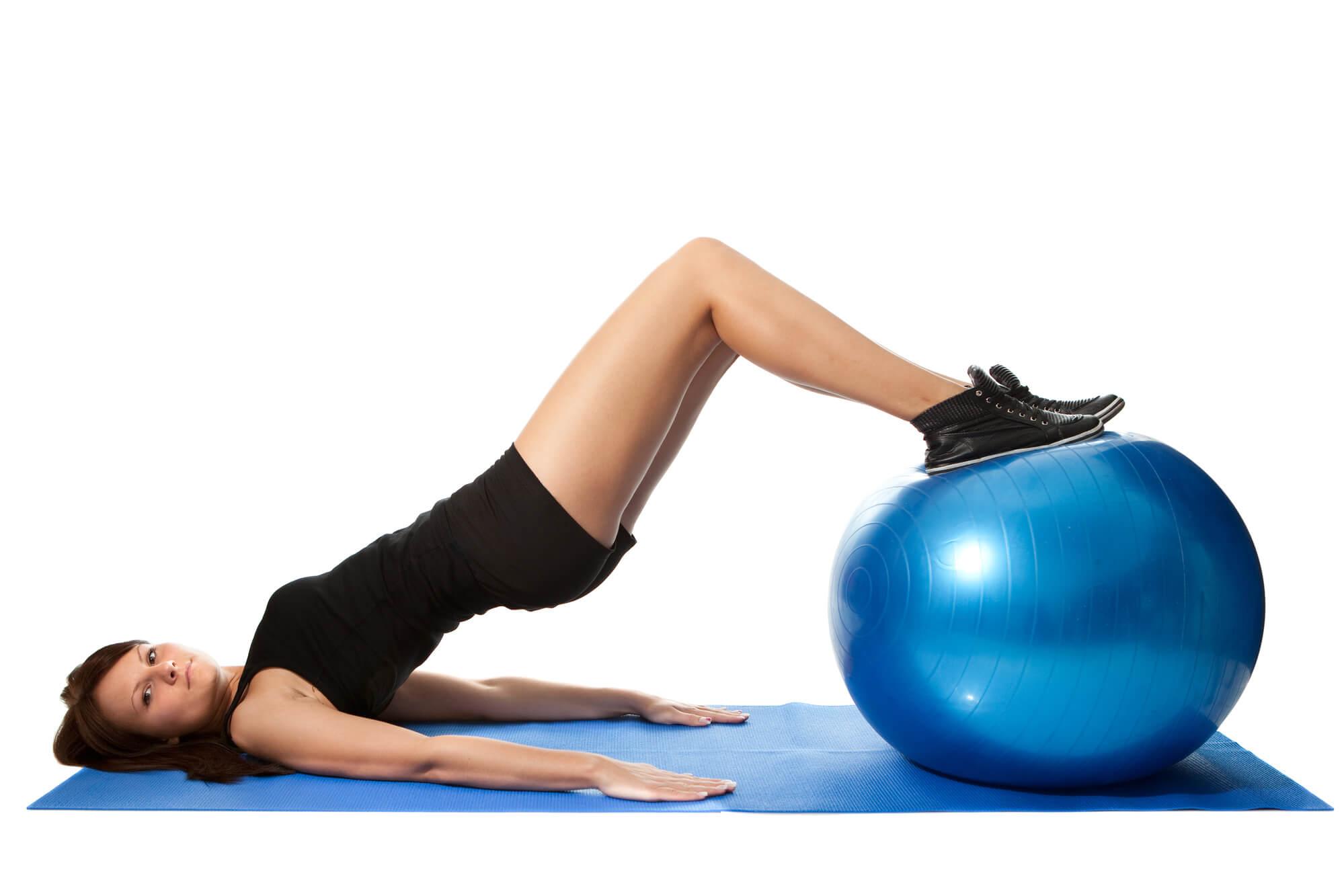 Cvičení s velkým míčem a overballem
