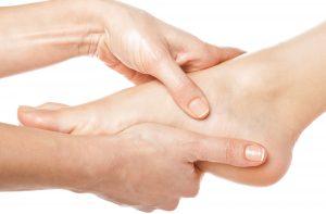 Podologické vyšetření nohou