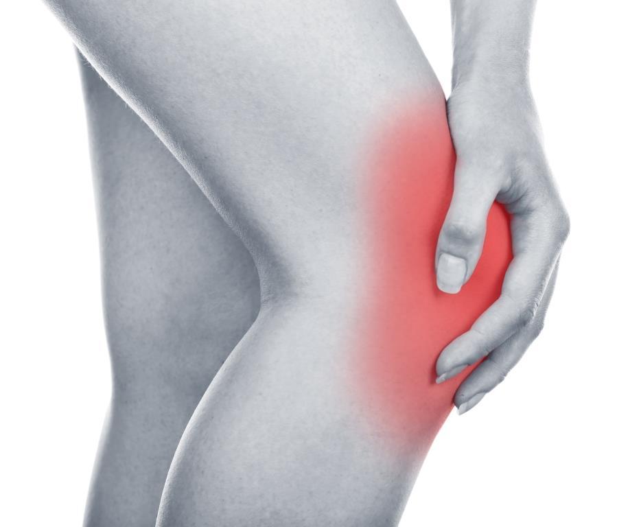 Skokanské koleno patelární tendinitida